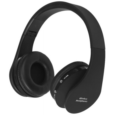 BT-16 Foldable Wireless Bluetooth Stereo Headphones with Mic