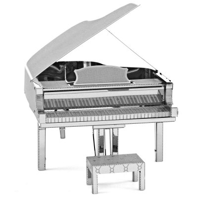 Piano 3D Metallic Puzzle
