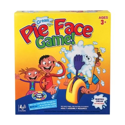 Korea Running Man Pie Face Game Cream Hit Face Home Parent-and-Child Games Novelty Fun Anti Stress Prank Funny Rocket Toys