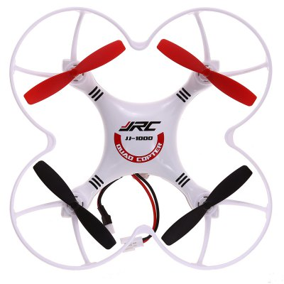 JJRC JJ  -  1000 Headless Mode 6 Axis Gyro 2.4GHz 4CH RC Quadcopter RTF 3D Flip Flying UFORC Quadcopters<br>JJRC JJ  -  1000 Headless Mode 6 Axis Gyro 2.4GHz 4CH RC Quadcopter RTF 3D Flip Flying UFO<br><br>Age: Above 14 years old<br>Brand: JJRC<br>Built-in Gyro: Yes<br>Channel: 4-Channels<br>Flying Time: About 8mins<br>Functions: Slow down, Hover, Speed up, Forward/backward, Turn left/right, Up/down, With light, 3D rollover<br>Kit Types: RTF<br>Level: Beginner Level<br>Material: Electronic Components, Metal, Plastic<br>Model Power: Built-in rechargeable battery<br>Motor Type: Brushed Motor<br>Night Flight: Yes<br>Package Contents: 1 x Quadcopter, 1 x RC Transmitter, 1 x USB Cable, 1 x English Manual, 4 x Spare Blade<br>Package size (L x W x H): 32.00 x 22.50 x 9.00 cm / 12.6 x 8.86 x 3.54 inches<br>Package weight: 0.5610 kg<br>Remote Control: 2.4GHz Wireless Remote Control<br>Transmitter Power: 4 x 1.5V AA battery(not included)<br>Type: RC Simulators