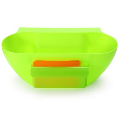 Kitchen Trash Can Waste ContainerStorage Baskets<br>Kitchen Trash Can Waste Container<br><br>Color: Green<br>For: All<br>Functions: Multi-functions<br>Material: ABS<br>Occasion: Others, Office, Dining Room, Bedroom, Bathroom, Kitchen Room, Living Room, Home, School<br>Package Contents: 1 x Kitchen Trash Can, 1 x Small Plastic Board<br>Package size (L x W x H): 30.00 x 17.00 x 13.00 cm / 11.81 x 6.69 x 5.12 inches<br>Package weight: 0.3510 kg<br>Product size (L x W x H): 29.20 x 15.50 x 11.00 cm / 11.5 x 6.1 x 4.33 inches<br>Product weight: 0.2490 kg<br>Type: Practical