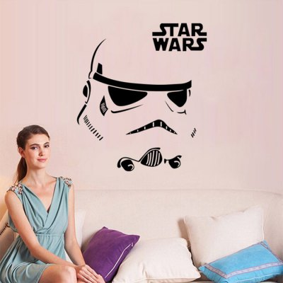 w-12 Stormtrooper Style Wall DecalsWall Stickers<br>w-12 Stormtrooper Style Wall Decals<br><br>Art Style: Plane Wall Stickers<br>Color Scheme: Black<br>Functions: Decorative Wall Stickers<br>Hang In/Stick On: Bathroom,Bedrooms,Cafes,Hotels,Kids Room,Living Rooms,Lobby,Nurseries,Offices,Stair,Toilet<br>Layout Size (L x W): 26.2 x 21cm<br>Material: Vinyl(PVC)<br>Package Contents: 1 x Wall Sticker<br>Package size (L x W x H): 21.00 x 2.50 x 2.50 cm / 8.27 x 0.98 x 0.98 inches<br>Package weight: 0.1300 kg<br>Product size (L x W x H): 28.50 x 21.00 x 0.10 cm / 11.22 x 8.27 x 0.04 inches<br>Product Type: Art Print<br>Product weight: 0.0200 kg<br>Subjects: People