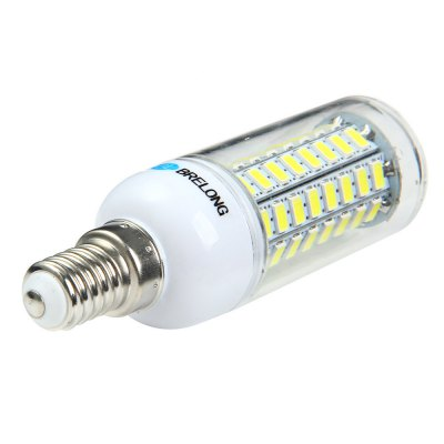 5 x BRELONG E14 12W 1200Lm SMD 5730 LED Corn Light LampCorn Bulbs<br>5 x BRELONG E14 12W 1200Lm SMD 5730 LED Corn Light Lamp<br><br>Available Light Color: White,Warm White<br>Brand: BRELONG<br>CCT/Wavelength: 3000-3500K,6000-6500K<br>Emitter Types: SMD 5730<br>Features: Long Life Expectancy, Energy Saving<br>Function: Studio and Exhibition Lighting, Commercial Lighting, Home Lighting<br>Holder: E27,E14,GU10,G9,B22<br>Luminous Flux: 1200Lm<br>Output Power: 12W<br>Package Contents: 5 x BRELONG LED Corn Bulb<br>Package size (L x W x H): 11.5 x 13.5 x 9 cm / 4.52 x 5.31 x 3.54 inches<br>Package weight: 0.240 kg<br>Product size (L x W x H): 10 x 3 x 3 cm / 3.93 x 1.18 x 1.18 inches<br>Product weight: 0.032 kg<br>Sheathing Material: Plastic<br>Total Emitters: 72<br>Type: Corn Bulbs<br>Voltage (V): AC 220-240