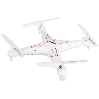 Syma X5C New Version X5C  -  1 Remote Control 6 Axis Gyro 4CH 2.4GHz Quadcopter with 360 Degree 3D Flip 200W HD Camera USB Charging CableRC Quadcopters<br>Syma X5C New Version X5C  -  1 Remote Control 6 Axis Gyro 4CH 2.4GHz Quadcopter with 360 Degree 3D Flip 200W HD Camera USB Charging Cable<br><br>Age: Above 14 years old<br>Brand: Syma<br>Built-in Gyro: Yes<br>Channel: 4-Channels<br>Detailed Control Distance: &gt; 50m<br>Flying Time: &gt; 6mins<br>Functions: 360 degrees accurate orientation, With light, Up/down, Camera, Turn left/right, Sideward flight, Forward/backward<br>Level: Beginner Level<br>Material: Electronic Components, Plastic<br>Mode: Mode 2 (Left Hand Throttle)<br>Model Power: Built-in rechargeable battery<br>Motor Type: Brushed Motor<br>Night Flight: Yes<br>Package Contents: 1 x SYMA X5C Quadcopter, 1 x Transmitter, 4 x Blade, 1 x SD Card, 1 x USB Charger<br>Package size (L x W x H): 41.00 x 31.00 x 10.00 cm / 16.14 x 12.2 x 3.94 inches<br>Package weight: 0.7400 kg<br>Product size (L x W x H): 32.00 x 32.00 x 8.00 cm / 12.6 x 12.6 x 3.15 inches<br>Product weight: 0.1010 kg<br>Radio Mode: Mode 2 (Left-hand Throttle)<br>Remote Control: 2.4GHz Wireless Remote Control<br>Transmitter Power: 4 x 1.5V AA battery(not included)
