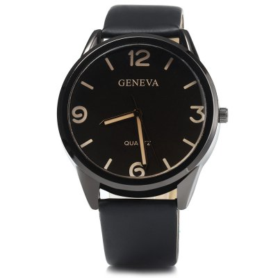 Geneva Leather Strap Men Quartz WatchMens Watches<br>Geneva Leather Strap Men Quartz Watch<br><br>Band material: Leather<br>Brand: Geneva<br>Case material: Stainless Steel<br>Clasp type: Pin buckle<br>Display type: Analog<br>Movement type: Quartz watch<br>Package Contents: 1 x Geneva Watch<br>Package size (L x W x H): 25 x 5 x 2 cm / 9.83 x 1.97 x 0.79 inches<br>Package weight: 0.09 kg<br>Product size (L x W x H): 24 x 4 x 1 cm / 9.43 x 1.57 x 0.39 inches<br>Product weight: 0.040 kg<br>Shape of the dial: Round<br>The band width: 2.0 cm / 0.79 inches<br>The dial diameter: 4.0 cm / 1.57 inches<br>The dial thickness: 1.0 cm / 0.39 inches<br>Watch style: Fashion<br>Watches categories: Male table<br>Wearable length: 16 - 21 cm / 6.3 - 8.27 inches