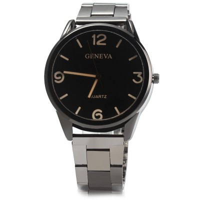 Geneva Stainless Steel Strap Men Quartz WatchMens Watches<br>Geneva Stainless Steel Strap Men Quartz Watch<br><br>Band material: Steel<br>Brand: Geneva<br>Case material: Stainless Steel<br>Clasp type: Folding clasp with safety<br>Display type: Analog<br>Movement type: Quartz watch<br>Package Contents: 1 x Geneva Watch<br>Package size (L x W x H): 23 x 5 x 2 cm / 9.04 x 1.97 x 0.79 inches<br>Package weight: 0.122 kg<br>Product size (L x W x H): 22 x 4 x 1 cm / 8.65 x 1.57 x 0.39 inches<br>Product weight: 0.072 kg<br>Shape of the dial: Round<br>The band width: 2.0 cm / 0.79 inches<br>The dial diameter: 4.0 cm / 1.57 inches<br>The dial thickness: 1.0 cm / 0.39 inches<br>Watch style: Fashion<br>Watches categories: Male table