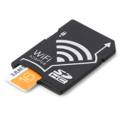 Original Samsung TF to WiFi SD Card Adapter SetMemory Cards<br>Original Samsung TF to WiFi SD Card Adapter Set<br><br>Brand: SAMSUNG<br>Class Rating: Class 10<br>Memory Capacity: 16G<br>Memory Card Type: Micro SD/TF<br>Package Contents: 1 x TF to WiFi SD Card Adapter, 1 x Memory Card<br>Package size (L x W x H): 5.4 x 4.4 x 1.3 cm / 2.12 x 1.73 x 0.51 inches<br>Package weight: 0.024 kg<br>Product size (L x W x H): 3.3 x 2.5 x 0.3 cm / 1.30 x 0.98 x 0.12 inches<br>Product weight: 0.001 kg<br>Type: Memory Card