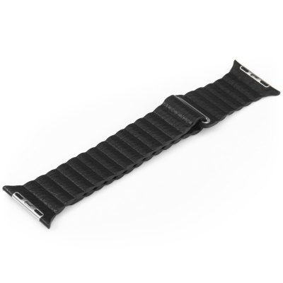 Genuine Leather Magnetic Watchband for Apple Watch 38mm