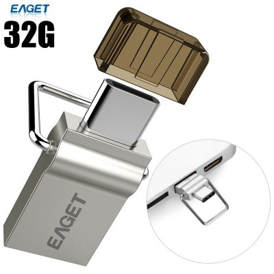 EAGET CU10 32G USB 3.0 to Type-C Flash Drive