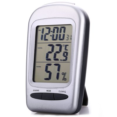 QF665 5 in 1 Digital Temperature Humidity Meter / Calendar / Clock / AlarmTemperature Instruments<br>QF665 5 in 1 Digital Temperature Humidity Meter / Calendar / Clock / Alarm<br><br>Certificate: CE<br>Humidity Measurement: 10-95 Percent RH<br>Model: QF665<br>Package Contents: 1 x QF665 5 in 1 Digital Temperature Humidity Meter / Calendar / Clock / Alarm<br>Package size (L x W x H): 18.8 x 11.7 x 3.3 cm / 7.39 x 4.60 x 1.30 inches<br>Package weight: 0.122 kg<br>Product size (L x W x H): 11.4 x 6.7 x 2.3 cm / 4.48 x 2.63 x 0.90 inches<br>Product weight: 0.076 kg<br>Range: -20-50 Degree Celsius<br>Temperature Type: Fahrenheit, Celsius