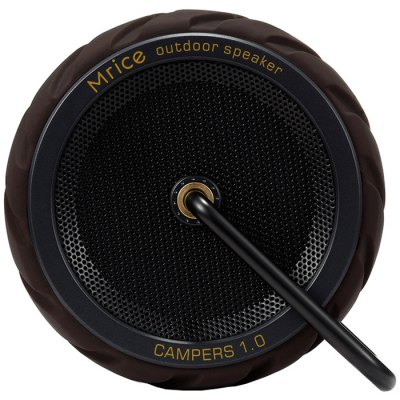 Mrice Campers 1.0 Wheels Type Bluetooth SpeakerSpeakers<br>Mrice Campers 1.0 Wheels Type Bluetooth Speaker<br><br>Audio Source: TF/Micro SD Card,Bluetooth Enabled Devices<br>Battery Capacity: 700mAh<br>Battery Type: Lithium<br>Battery Voltage: 3.7V<br>Bluetooth Version: V2.1+EDR<br>Brand: Mrice<br>Charging Time: 4 hours<br>Color: Black,Red,Yellow,Camouflage Color,Silver<br>Compatible with: MP3, PSP, TF/Micro SD Card, Laptop, MP5, iPhone, iPod, Mobile phone, PC, Tablet PC, MP4<br>Connection: Wireless<br>Design: Stylish, Sport, Portable, Multifunctional, Mini, Fun, Classical, Cool<br>Driver unit: 45mm<br>Functions: Songs Track<br>Interface: TF Card Slot, Micro USB<br>Lasting Time: More than 360 hours<br>Material: PC, ABS<br>Model: Campers 1.0<br>Operating Range: Up to 10m<br>Package Contents: 1 x Mrice Campers 1.0 Wheels Type Bluetooth Speaker, 1 x USB Charging Cable, 1 x English Manual<br>Package size (L x W x H): 16 x 10.8 x 6.3 cm / 6.29 x 4.24 x 2.48 inches<br>Package weight: 0.385 kg<br>Power Output: 6W<br>Power Source: USB,Battery<br>Product size (L x W x H): 9 x 9 x 4.3 cm / 3.54 x 3.54 x 1.69 inches<br>Product weight: 0.190 kg<br>S/N: 80dB<br>Speaker Impedance: 3 ohm<br>Supports: Hands-free Calls, Volume Control, TF Card Music Playing, Waterproof, Bluetooth<br>TF Card Extension: 128G to the Max.(Not Included)<br>Transmission Distance: W/O obstacles ?10m<br>Usage: Travel