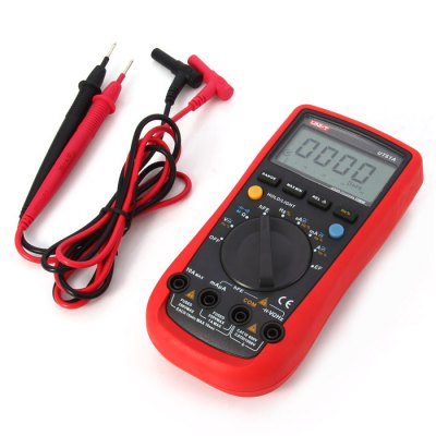 UNI-T UT61A LCD Digital MultimeterMultimeters &amp; Fitting<br>UNI-T UT61A LCD Digital Multimeter<br><br>Brand: UNI-T<br>Model: UT61A<br>Package Contents: 1 x UNI-T UT61A LCD Digital Multimeter, 2 x Test Lead, 1 x Adapter, 1 x Chinese Manual<br>Package size (L x W x H): 22 x 15.8 x 5.8 cm / 8.65 x 6.21 x 2.28 inches<br>Package weight: 0.602 kg<br>Product size (L x W x H): 17.8 x 8.3 x 4.2 cm / 7.00 x 3.26 x 1.65 inches<br>Product weight: 0.345 kg<br>Type: Multimeter