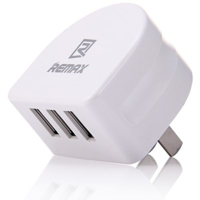 REMAX US Plug Power Adapter Wall Charger 3 USB Port