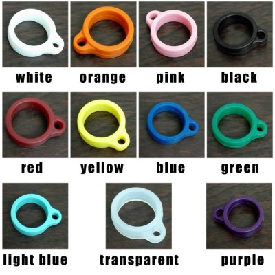 Silicone Ring Clip for E-CigaretteVapor Accessories<br>Silicone Ring Clip for E-Cigarette<br><br>Accessories type: O-rings<br>Material: Silica Gel<br>Package Contents: 1 x Silicone Ring Clip<br>Package size (L x W x H): 1 x 2 x 2 cm / 0.39 x 0.79 x 0.79 inches<br>Package weight: 0.010 kg<br>Product size (L x W x H): 0.6 x 2.1 x 1.7 cm / 0.24 x 0.83 x 0.67 inches<br>Product weight: 0.001 kg<br>Type: Electronic Cigarettes Accessories