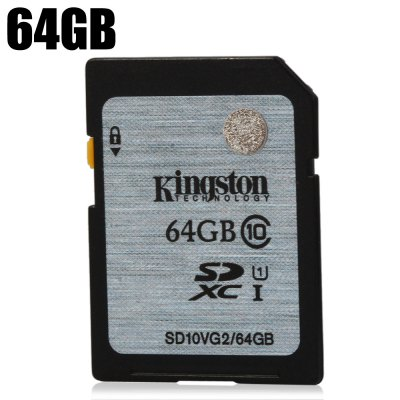 Original Kingston 64GB SDXC Card