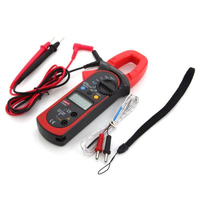 UNI-T UT204A LCD Digital Clamp MultimeterMultimeters &amp; Fitting<br>UNI-T UT204A LCD Digital Clamp Multimeter<br><br>Brand: UNI-T<br>Model: UT204A<br>Package Contents: 1 x UNI-T UT204A LCD Digital Multimeter, 2 x Test Lead, 1 x Thermocouple Probe, 1 x Strap, 1 x Bag, 1 x Chinese Manual<br>Package size (L x W x H): 23.5 x 9 x 5.2 cm / 9.24 x 3.54 x 2.04 inches<br>Package weight: 0.431 kg<br>Product size (L x W x H): 20.7 x 8 x 2.4 cm / 8.14 x 3.14 x 0.94 inches<br>Product weight: 0.224 kg<br>Type: Multimeter