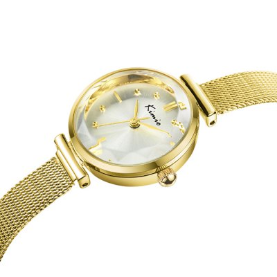 Kimio KW6041S Ladies Diamond Quartz Watch Alloy BandWomens Watches<br>Kimio KW6041S Ladies Diamond Quartz Watch Alloy Band<br><br>Available Color: Black,White,Gold,Coffee<br>Band material: Alloys<br>Brand: Kimio<br>Case material: Alloy<br>Clasp type: Buckle<br>Display type: Analog<br>Movement type: Quartz watch<br>Package Contents: 1 x Kimio KW6041S Watch<br>Package size (L x W x H): 22.5 x 3.3 x 1.5 cm / 8.84 x 1.30 x 0.59 inches<br>Package weight: 0.077 kg<br>Product size (L x W x H): 21.5 x 2.3 x 0.5 cm / 8.45 x 0.90 x 0.20 inches<br>Product weight: 0.027 kg<br>Shape of the dial: Round<br>Style: Fashion&amp;Casual, Diamond<br>The band width: 1.0 cm / 0.39 inches<br>The dial diameter: 2.3 cm / 0.9 inches<br>The dial thickness: 0.5 cm / 0.2 inches<br>Watches categories: Female table
