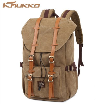 KAUKKO 15L Unisex BackpackBackpacks<br>KAUKKO 15L Unisex Backpack<br><br>Bag Capacity: 15L<br>Brand: KAUKKO<br>Capacity: 11 - 20L<br>Color: Army green,Black,Khaki<br>For: Climbing, Cycling, Casual, Other, Traveling, Hiking<br>Material: Cotton<br>Package Contents: 1 x KAUKKO Unisex Backpack<br>Package size (L x W x H): 42.00 x 31.00 x 5.00 cm / 16.54 x 12.2 x 1.97 inches<br>Package weight: 1.150 kg<br>Product size (L x W x H): 40.00 x 30.00 x 16.00 cm / 15.75 x 11.81 x 6.3 inches<br>Product weight: 1.070 kg<br>Type: Backpack