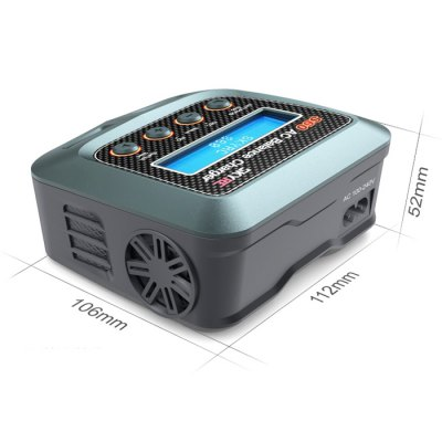 Spare SKYRC S60 60W Balance Charger Discharger for Multirotor Aircraft BatteryCharger<br>Spare SKYRC S60 60W Balance Charger Discharger for Multirotor Aircraft Battery<br><br>Brand: SKYRC<br>Charger Power Supply: DC<br>Package Contents: 1 x SKYRC S60 Balance Charger<br>Package size (L x W x H): 13.00 x 12.00 x 6.00 cm / 5.12 x 4.72 x 2.36 inches<br>Package weight: 0.5600 kg<br>Type: Balance Charger, Charger, Servo