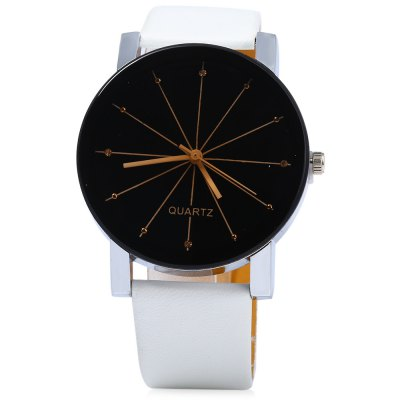 Male Analog Quartz WatchMens Watches<br>Male Analog Quartz Watch<br><br>Available Color: Black,White<br>Band material: Leather<br>Case material: Alloy<br>Clasp type: Pin buckle<br>Display type: Analog<br>Movement type: Quartz watch<br>Package Contents: 1 x Male Analog Quartz Watch<br>Package size (L x W x H): 25.00 x 5.00 x 1.80 cm / 9.84 x 1.97 x 0.71 inches<br>Package weight: 0.0940 kg<br>Product size (L x W x H): 24.00 x 4.00 x 0.80 cm / 9.45 x 1.57 x 0.31 inches<br>Product weight: 0.0340 kg<br>Shape of the dial: Round<br>The band width: 2 cm / 0.79 inches<br>The dial diameter: 4 cm / 1.57 inches<br>The dial thickness: 0.8 cm / 0.31 inches<br>Watch style: Fashion<br>Watches categories: Male table<br>Wearable length: 18 - 21.5 cm / 7.09 - 8.46 inches