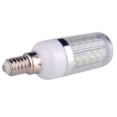 5PCS E14 18W SMD 3014 1050Lm LED Corn BulbCorn Bulbs<br>5PCS E14 18W SMD 3014 1050Lm LED Corn Bulb<br><br>Available Light Color: White,Warm White<br>CCT/Wavelength: 6000-6500K,2800-3200K<br>Emitter Types: SMD 3014<br>Features: Long Life Expectancy, Low Power Consumption<br>Function: Home Lighting, Studio and Exhibition Lighting, Commercial Lighting<br>Holder: E14<br>Lifespan: 30000h<br>Luminous Flux: 1050<br>Output Power: 18W<br>Package Contents: 5 x E14 LED Corn Bulb<br>Package size (L x W x H): 16 x 11 x 4 cm / 6.29 x 4.32 x 1.57 inches<br>Package weight: 0.240 kg<br>Product size (L x W x H): 9.5 x 3 x 3 cm / 3.73 x 1.18 x 1.18 inches<br>Product weight: 0.032 kg<br>Sheathing Material: Plastic, PC<br>Total Emitters: 120<br>Type: Corn Bulbs<br>Voltage (V): AC 85-265/50-60Hz