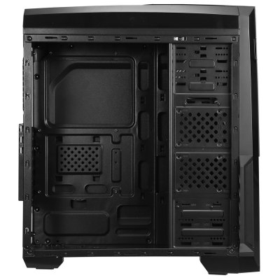 Segotep Spring Mid Tower Gaming Computer Case Support ATX M-ATX ITX MotherboardComputer Cases<br>Segotep Spring Mid Tower Gaming Computer Case Support ATX M-ATX ITX Motherboard<br><br>Driver Slot: 1 x 5.25 inch Optical Driver, 3 x 3.5 inch HDD, 4 x 2.5 inch SSD<br>Expansion Slots : 7<br>Fan Install Position: Front-1 x 12cm, Rear-1 x 12cm, Top-2 x 12cm<br>I/O Plate Slot: USB 3.0, USB 2.0 , Audio I/O interface<br>Material: Baked Black Steel Plate<br>Motherboard Compatibility: ATX, ITX, M-ATX<br>Package Contents: 1 x Segotep Spring Mid Tower Gaming Computer Case<br>Package size (L x W x H): 52.00 x 23.50 x 60.00 cm / 20.47 x 9.25 x 23.62 inches<br>Package weight: 5.4100 kg<br>Plate Thickness: 0.6mm<br>Product size (L x W x H): 45.00 x 20.00 x 50.00 cm / 17.72 x 7.87 x 19.69 inches<br>Product weight: 4.2100 kg<br>Type: Tower Computer Case