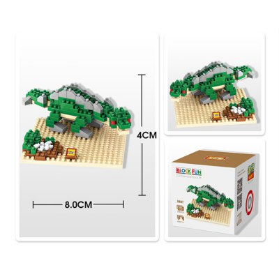 LOZ 190Pcs 9487 Jurassic Park Stegosaurus Figure Building Block Toy for Enhancing Social Cooperation AbilityBlock Toys<br>LOZ 190Pcs 9487 Jurassic Park Stegosaurus Figure Building Block Toy for Enhancing Social Cooperation Ability<br><br>Age: 14 Years+<br>Applicable gender: Unisex<br>Brand: LOZ<br>Character Name: Stegosaurus<br>Design Style: Cartoon<br>Features: DIY<br>Material: ABS<br>Package Contents: 190 x Module, 1 x User Manual<br>Package size (L x W x H): 8.50 x 8.50 x 8.50 cm / 3.35 x 3.35 x 3.35 inches<br>Package weight: 0.080 kg<br>Product Model: 9487<br>Product prototype: Jurassic Park<br>Puzzle Style: 3D Puzzle<br>Small Parts : Yes<br>Type: Building Blocks<br>Washing: Yes