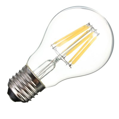 BRELONG 8W E27 800LM COB LED Filament BulbEdison Bulbs<br>BRELONG 8W E27 800LM COB LED Filament Bulb<br><br>Angle: 360 degree<br>Available Light Color: Warm White,White<br>Brand: BRELONG<br>CCT/Wavelength: 3000-3500K,5500-6000K<br>Emitter Types: COB<br>Features: Retro Edison Style, Long Life Expectancy, Energy Saving<br>Function: Studio and Exhibition Lighting, Commercial Lighting, Home Lighting<br>Holder: E27<br>Lifespan: 30000h<br>Luminous Flux: 800Lm<br>Output Power: 8W<br>Package Contents: 1 x BRELONG E27 LED Light Bulb<br>Package size (L x W x H): 6.00 x 6.00 x 11.00 cm / 2.36 x 2.36 x 4.33 inches<br>Package weight: 0.0550 kg<br>Product size (L x W x H): 5.00 x 5.00 x 10.00 cm / 1.97 x 1.97 x 3.94 inches<br>Product weight: 0.0300 kg<br>Sheathing Material: Glass<br>Total Emitters: 8<br>Type: Edison Bulb<br>Voltage (V): AC 220
