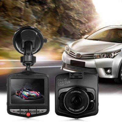 GT300 1080P 2.4 inch Car Dashcam Video RecorderCar DVR<br>GT300 1080P 2.4 inch Car Dashcam Video Recorder<br><br>Anti-shake: No<br>Apply To Car Brand: Universal<br>Audio System: Built-in microphone/speacker (AAC)<br>Battery Capacity (mAh?: 180mAh polymer lithium battery<br>Battery Charging Time: 2 -3 hours<br>Battery Type: Built-in<br>Camera Pixel : 3.0MP<br>Charge way: Car charger<br>Chipset: Generalplus1248<br>Chipset Name: Generalplus<br>Class Rating Requirements: Class 10 or Above<br>Decode Format: MJPEG<br>Delay Shutdown : Yes<br>Exposure Compensation: +1,+1/3,+2,+4/3,+5/3,-1,-1/3,-2,-2/3,-4/3,-5/3,2/3<br>G-sensor: Yes<br>GPS: No<br>HDMI Output: Yes<br>Image Format : JPEG<br>Image resolution: 12M (4032 x 3024), 5M (2592 x 1944), 8M (3264 x 2448)<br>Image Sensor: CMOS<br>Interface Type: Mini HDMI, TF Card Slot, AV-Out, Micro USB<br>ISO: Auto,ISO100,ISO200<br>Language: English,French,German,Italian,Japanese,Korean,Portuguese,Russian,Simplified Chinese,Spanish<br>Lens Size: 17MM<br>Loop-cycle Recording : Yes<br>Loop-cycle Recording Time: 10min,1min,2min,3min,5min,OFF<br>Max External Card Supported: TF 32G (not included)<br>Model: GT300<br>Motion Detection: Yes<br>Motion Detection Distance: No<br>Night vision : Yes<br>Night Vision Distance: 1 - 2M<br>Operating Temp.: 0 - 60 Deg.C<br>Package Contents: 1 x GT300 1080P Car Dashcam DVR, 1 x Car Charger ( Cable Length 300cm ), 1 x Bracket, 1 x USB Cable ( 42cm )<br>Package size (L x W x H): 16.00 x 12.00 x 8.50 cm / 6.3 x 4.72 x 3.35 inches<br>Package weight: 0.2540 kg<br>Parking Monitoring: Yes<br>Power Cable Length: 3M<br>Product size (L x W x H): 7.00 x 6.50 x 4.00 cm / 2.76 x 2.56 x 1.57 inches<br>Product weight: 0.0500 kg<br>Screen size: 2.4inch<br>Screen type: TFT<br>Time Stamp: Yes<br>Type: HD Car DVR Recorder, Full HD Dashcam<br>Video format: AVI<br>Video Frame Rate: 30fps<br>Video Output : AV-Out,HDMI<br>Video Resolution: 1080P (1920 x 1080),1440 x 1080,720P (1280 x 720),848 x 480,VGA (640 x 480)<br>Waterproof: No<br>Waterproof Rating : No<br>White Balance Mode: Auto<br>Wide Angle: 110 degree wide angle lens<br>WIFI: No<br>Working Time: About 20 min<br>Working Voltage: 5V