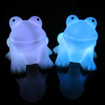 Energy Magic LED Cute Frog Night Light Novelty Lamp Changing Colors Colorful Nightlight Lamp Flashing Toy P4PMNovelty Toys<br>Energy Magic LED Cute Frog Night Light Novelty Lamp Changing Colors Colorful Nightlight Lamp Flashing Toy P4PM<br><br>Age: 3 Years+<br>Applicable gender: Unisex<br>Battery Type: 3 x AG13 Battery (included)<br>Design Style: Animal<br>Features: Educational<br>Material: PVC, Electronic Components<br>Package Contents: 1 x Frog Night Lamp<br>Package size (L x W x H): 8.70 x 6.50 x 6.50 cm / 3.43 x 2.56 x 2.56 inches<br>Package weight: 0.060 kg<br>Puzzle Style: Other<br>Small Parts : No<br>Type: Intelligence toys<br>Washing: No