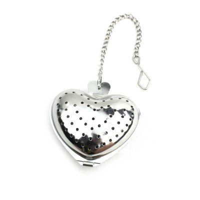 Portable Heart Style Stainless Steel Tea Filter