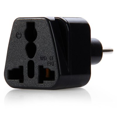 WD11ABK Switzerland Plug to Universal Socket AdapterPlugs &amp; Sockets<br>WD11ABK Switzerland Plug to Universal Socket Adapter<br><br>Color: Black,White<br>Identification: CE<br>Input Current: 10A / 16A<br>Model: WD11ABK<br>Package Contents: 1 x WD11ABK Switzerland Plug to Universal Socket Adapter<br>Package size (L x W x H): 15.5 x 10 x 5 cm / 6.09 x 3.93 x 1.97 inches<br>Package weight: 0.050 kg<br>Product size (L x W x H): 6.3 x 3.7 x 3.7 cm / 2.48 x 1.45 x 1.45 inches<br>Product weight: 0.029 kg<br>Standard: Switzerland Plug