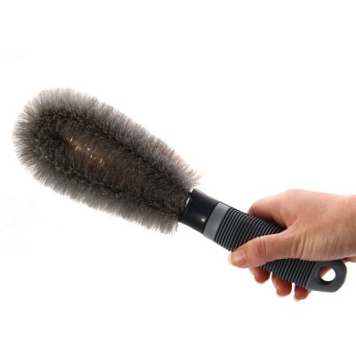Motorcycle Car Wash Tire Brush Dust Cleaning Tool