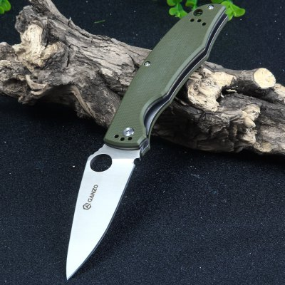 Ganzo G732-GR Liner Lock Pocket Knife with G10 Handle