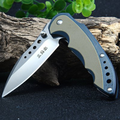 Sanrenmu 7078 MUX-GVK Pocket Knife with G10 HandlePocket Knives and Folding Knives<br>Sanrenmu 7078 MUX-GVK Pocket Knife with G10 Handle<br><br>Blade Edge Type: Fine<br>Blade Length: 6.8 cm<br>Blade Length Range: 5cm-10cm<br>Blade Material: 12C27 Stainless Steel<br>Blade Width : 2.0 cm<br>Brand: Sanrenmu<br>Clip Length: 3.8 cm<br>Color: Orange<br>For: Mountaineering, Collecting, Travel, Home use, Adventure, Hiking, Camping<br>Handle Material: G10 Handle<br>Lock Type: No lock<br>Model Number: 7078 MUX-GVK<br>Package Contents: 1 x Sanrenmu 7078 MUX-GVK Pocket Knife<br>Package size (L x W x H): 16.0 x 9.2 x 3.0 cm / 6.29 x 3.62 x 1.18 inches<br>Package weight: 0.120 kg<br>Product size (L x W x H): 9.2 x 3.0 x 1.6 cm / 3.62 x 1.18 x 0.63 inches<br>Product weight: 0.066 kg<br>Unfold Length: 16.0 cm<br>Weight Range: 51g-100g