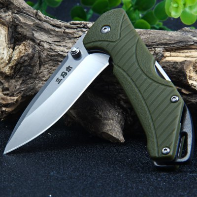 Sanrenmu 7089 SUX-PP-T3 Multi-function Folding Hunting KnifePocket Knives and Folding Knives<br>Sanrenmu 7089 SUX-PP-T3 Multi-function Folding Hunting Knife<br><br>Blade Edge Type: Fine<br>Blade Length: 6.7 cm<br>Blade Length Range: 5cm-10cm<br>Blade Material: 12C27 Stainless Steel<br>Blade Width : 2.2 cm<br>Brand: Sanrenmu<br>Clip Length: 3.5 cm<br>Color: Army green<br>For: Mountaineering, Collecting, Travel, Home use, Adventure, Hiking, Camping<br>Handle Material: PA66 + GF<br>Lock Type: No lock<br>Model Number: 7089 SUX-PP-T3<br>Package Contents: 1 x Sanrenmu 7089 SUX-PP-T3 Pocket Knife<br>Package size (L x W x H): 16.0 x 9.3 x 3.0 cm / 6.29 x 3.65 x 1.18 inches<br>Package weight: 0.126 kg<br>Product size (L x W x H): 9.5 x 2.8 x 1.7 cm / 3.73 x 1.10 x 0.67 inches<br>Product weight: 0.066 kg<br>Unfold Length: 16.0 cm<br>Weight Range: 51g-100g