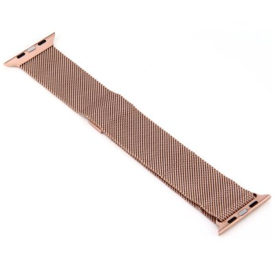 Milanese Loop Magnetic Wrist Watchband for iWatch 38mmApple Watch Bands<br>Milanese Loop Magnetic Wrist Watchband for iWatch 38mm<br><br>Color: Black,Gold,Rose Gold,Silver<br>Features: Milanese Loop<br>Function: Replaceable Watchband for Apple Watch / iWatch<br>Material: Stainless Steel<br>Package Contents: 1 x Watchband<br>Package size: 24.5 x 6 x 2 cm / 9.63 x 2.36 x 0.79 inches<br>Package weight: 0.078 kg<br>Product size: 24.5 x 2.3 x 0.1 cm / 9.63 x 0.90 x 0.04 inches<br>Product weight: 0.035 kg<br>Type: Watchband