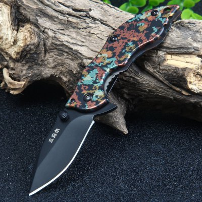 Sanrenmu 6026 LUI-SGJ Frame Lock Pocket Knife