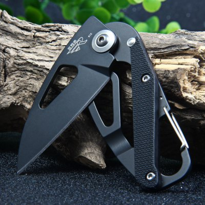 Sanrenmu GB4-612 Frame Lock Camping Folding KnifePocket Knives and Folding Knives<br>Sanrenmu GB4-612 Frame Lock Camping Folding Knife<br><br>Blade Edge Type: Fine<br>Blade Length: 5.3 cm<br>Blade Length Range: 5cm-10cm<br>Blade Material: 8Cr14Mov Stainless Steel<br>Blade Width : 2.5 cm<br>Brand: Sanrenmu<br>Color: Black<br>For: Mountaineering, Collecting, Travel, Home use, Adventure, Hiking, Camping<br>Handle Material: PA66 + GF<br>Lock Type: Frame Lock<br>Model Number: GB4 - 612<br>Package Contents: 1 x Sanrenmu GB4 - 612 Pocket Knife<br>Package size (L x W x H): 15.7 x 7.7 x 2.6 cm / 6.17 x 3.03 x 1.02 inches<br>Package weight: 0.086 kg<br>Product size (L x W x H): 7.8 x 3.1 x 0.7 cm / 3.07 x 1.22 x 0.28 inches<br>Product weight: 0.040 kg<br>Unfold Length: 13.4 cm<br>Weight Range: 1g-50g