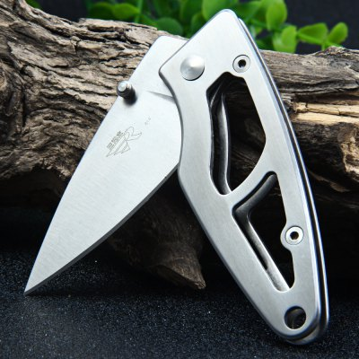 Sanrenmu 614 Folding Hunting KnifePocket Knives and Folding Knives<br>Sanrenmu 614 Folding Hunting Knife<br><br>Blade Edge Type: Fine<br>Blade Length: 5.8 cm<br>Blade Length Range: 5cm-10cm<br>Blade Material: 8Cr14Mov Stainless Steel<br>Blade Width : 2.3 cm<br>Brand: Sanrenmu<br>Clip Length: 4.0 cm<br>Color: Black,Silver<br>For: Mountaineering, Collecting, Travel, Home use, Adventure, Hiking, Camping<br>Handle Material: Steel<br>Lock Type: Frame Lock<br>Model Number: 614<br>Package Contents: 1 x Sanrenmu 614 Pocket Knife<br>Package size (L x W x H): 15.5 x 7.7 x 2.7 cm / 6.09 x 3.03 x 1.06 inches<br>Package weight: 0.090 kg<br>Product size (L x W x H): 8.0 x 3.0 x 1.1 cm / 3.14 x 1.18 x 0.43 inches<br>Product weight: 0.050 kg<br>Unfold Length: 13.6 cm<br>Weight Range: 1g-50g