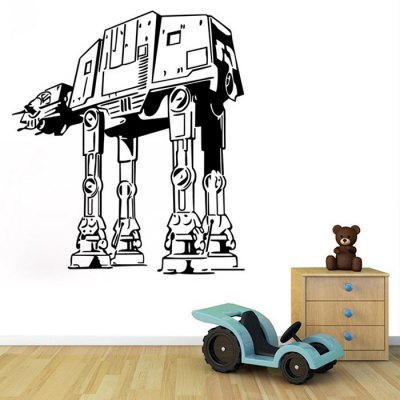 w-29 AT-AT Walker Style Wall Sticker