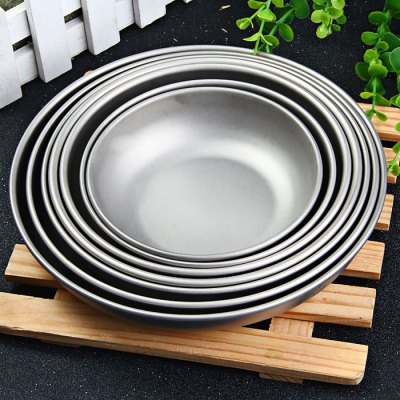 Keith 7-piece Titanium Plate Set for Home Use
