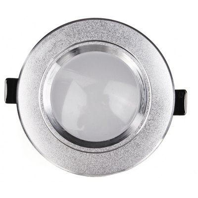 3W 330Lm Round LED Panel Downlight