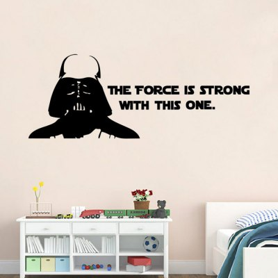 w-2 Darth Vader Alphabet Wall Stickers RemovableWall Stickers<br>w-2 Darth Vader Alphabet Wall Stickers Removable<br><br>Art Style: Plane Wall Stickers<br>Color Scheme: Black<br>Effect Size (L x W): 83.5 x 32cm<br>Functions: Decorative Wall Stickers<br>Hang In/Stick On: Bathroom,Bedrooms,Cafes,Hotels,Kids Room,Living Rooms,Lobby,Nurseries,Offices,Stair,Toilet<br>Layout Size (L x W): 42 x 32cm<br>Material: Vinyl(PVC)<br>Package Contents: 1 x Wall Sticker<br>Package size (L x W x H): 33.00 x 5.00 x 5.00 cm / 12.99 x 1.97 x 1.97 inches<br>Package weight: 0.2250 kg<br>Product size (L x W x H): 42.00 x 32.00 x 0.10 cm / 16.54 x 12.6 x 0.04 inches<br>Product Type: Art Print<br>Product weight: 0.0500 kg<br>Subjects: People