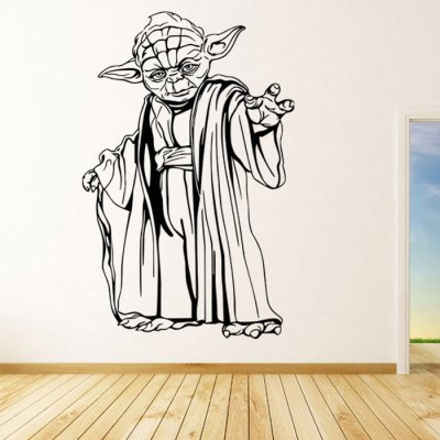 w-22 YODA Style Wall StencilsWall Stickers<br>w-22 YODA Style Wall Stencils<br><br>Art Style: Plane Wall Stickers<br>Color Scheme: Black<br>Effect Size (L x W): 58 x 89cm<br>Functions: Decorative Wall Stickers<br>Hang In/Stick On: Bathroom,Bedrooms,Cafes,Hotels,Kids Room,Living Rooms,Lobby,Nurseries,Offices,Stair,Toilet<br>Package Contents: 1 x Wall Sticker<br>Package size (L x W x H): 62.00 x 6.00 x 6.00 cm / 24.41 x 2.36 x 2.36 inches<br>Package weight: 0.340 kg<br>Product size (L x W x H): 58.00 x 89.00 x 0.10 cm / 22.83 x 35.04 x 0.04 inches<br>Product Type: Art Print<br>Product weight: 0.160 kg