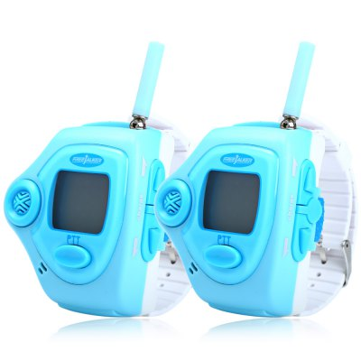 820 2pcs Wrist Watch Style Walkie Talkie