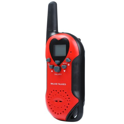 T6 2pcs 22 Channel UHF Walkie Talkie with LCD Screen