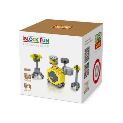 LOZ M - 9188 Assemble Puzzle ToyBlock Toys<br>LOZ M - 9188 Assemble Puzzle Toy<br><br>Age: 14 Years+<br>Applicable gender: Unisex<br>Brand: LOZ<br>Design Style: Instrument<br>Features: Educational<br>Material: ABS<br>Package Contents: 140 x Block, 1 x English Manual<br>Package size (L x W x H): 7.50 x 7.50 x 7.50 cm / 2.95 x 2.95 x 2.95 inches<br>Package weight: 0.0450 kg<br>Puzzle Style: 3D Puzzle<br>Small Parts : Yes<br>Type: Building Blocks<br>Washing: Yes