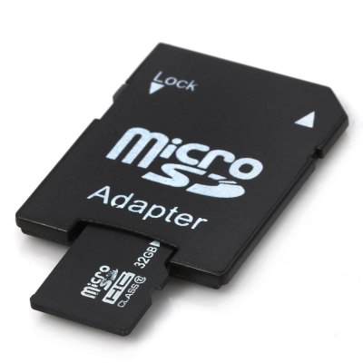 32GB Micro SD / TF Flash Memory CardMemory Cards<br>32GB Micro SD / TF Flash Memory Card<br><br>Class Rating: Class 10<br>Memory Capacity: 32G<br>Memory Card Type: Micro SD/TF<br>Package Contents: 1 x 32GB Micro SD / TF Flash Memory Card, 1 x Card Adapter<br>Package size (L x W x H): 6.500 x 5.500 x 1.700 cm / 2.559 x 2.165 x 0.669 inches<br>Package weight: 0.034 kg<br>Product size (L x W x H): 5.500 x 4.500 x 0.700 cm / 2.165 x 1.772 x 0.276 inches<br>Product weight: 0.001 kg<br>Read Speed: 30MB/s<br>Type: Memory Card<br>Write Speed: 10MB/s