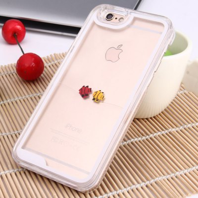 3D Liquid Flow Fish Protective Case for iPhone 6 / 6S